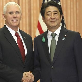 Pence Voices American Support For Asia
