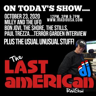 THE LAST AMERICAN DJ RADIO SHOW 102320