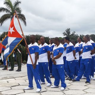 Cubanos compiten contra bloque de Estados Unidos