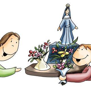 Poesía a la Virgen María. 3º infantil