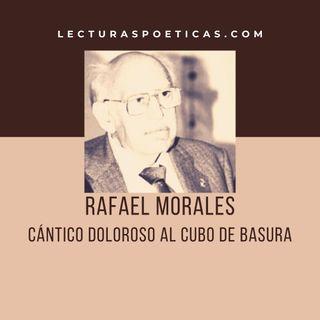 Rafael Morales · 'Cántico doloroso al cubo de basura'
