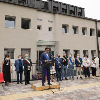"""Inaugurato il """"nuovo"""" liceo Corradini. Spazi raddoppiati grazie a un mega ampliamento"""