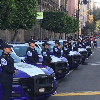 Listo operativo de seguridad para marcha de mujeres en CDMX
