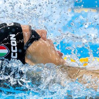 Ceccon freccia d'argento nella staffetta Italia e in finale individuale nei 100 dorso