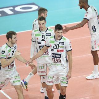 Lisinac Kooy e Lorenzetti dopo il 3-0 in Champions su Novi Sad