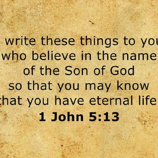 What We Need To Know 1 John 5