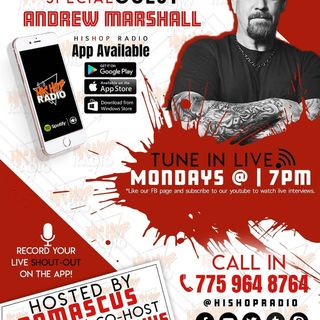 EPISODE 42 ANDREW MARSHALL LIVE ON HIS HOP RADIO PODCAST