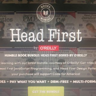 Humble Book Bundle: Head First Series By O'Reilly