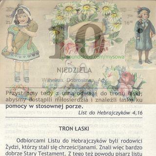 Zagajewski a SPRAWA POLSKA PDO260 FO Herody Herodenspiel von Stefan Kosiewski DIDASKALIA ZECh CANTO DCLVII