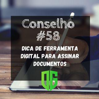 Dica de ferramenta digital para assinar documentos