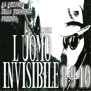 Audiolibro L'Uomo Invisibile - Capitolo 08-09-10 - H.G. Wells