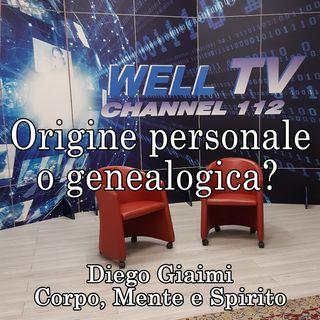 Origine personale o genealogica? (Psicogenealogia e Costellazioni familiari)