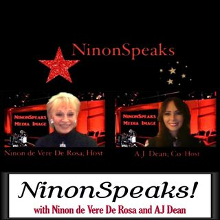 Ninon Speaks with guests Grant Philipo and Georgette Dante