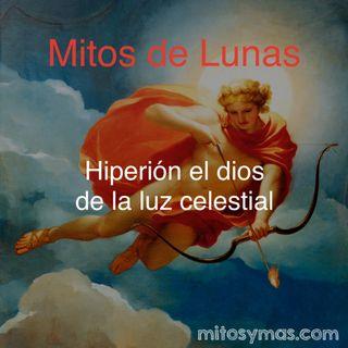 Mitos de Lunas: Hiperión, el sol, la luna y el sentido de la vista según los antiguos griegos.