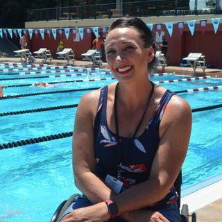 6 time Olympic Gold Medalist Amy Van Dyken