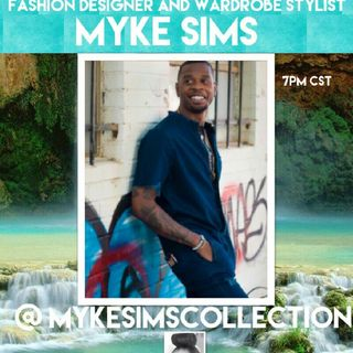 THE PLATFORM : SPECIAL GUEST FASHION DESIGNER AND WARDROBE STYLIST MYKE SIMS