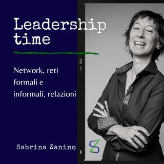 Network, reti formali e informali, relazioni