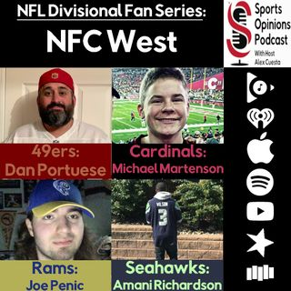 SOP Special NFL Divisional Fan Series: NFC West