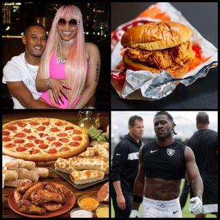 Episode 45 - Nicki Minaj's Retirement, Antonio Brown's Suspension, Catching A Case for the Popeyes Chicken Sandwich