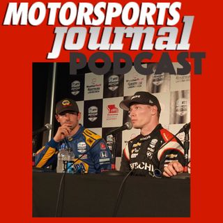 Episode 18.1 Post Qualifying IndyCar Press Conference Laguna Seca