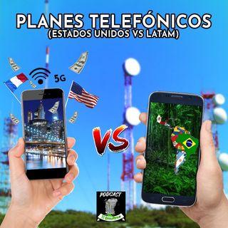 (PLANES TELEFÓNICOS) Estados Unidos vs Latino America