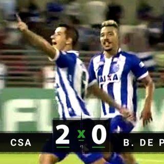 CSA 2 x 0 Brasil de Pelotas Campeonato Brasileiro Série B 2018  33ª RODADA narraçao  rodrigo oliveira radio pelotense de pelotas