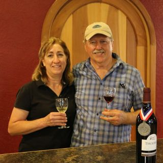 A Visit to Courtyard Winery - Randy and Laura Graham on Big Blend Radio