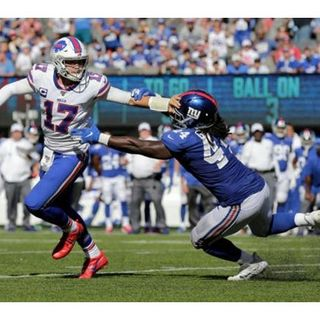 NY Giants lose to Buffalo Bills! NFL Week #2!