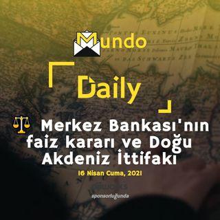 ⚖️ Merkez Bankası'nın faiz kararı ve Doğu Akdeniz İttifakı