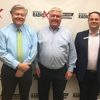 Matt Bazzill, Renasant Bank, and Mike McCoy, Real McCoy Home Care