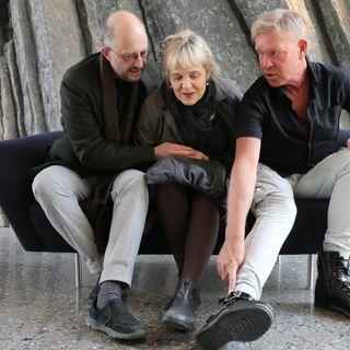 Per Naroskin, Gabriella Ahlström och Calle Norlén.