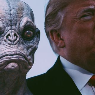 UBR - UFO Report 154: Nick Pope Claims Donald Trump Space Force Answer to UFOs