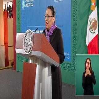 """La violencia de género es """"la otra pandemia"""" que enfrenta México y el mundo: Rosa Icela Rodríguez"""
