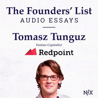 "The Founders' List: Tomasz Tunguz on ""Ten Years Worth of Learnings About Pricing"" & ""There are Only 3 Pricing Strategies for Your Startup"" ("