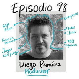 EP98: Producciones propias y servicios internacionales con Diego Ramírez
