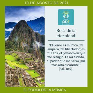 10 de agosto - Roca de la eternidad - Devocional de Jóvenes - Etiquetas Para Reflexionar