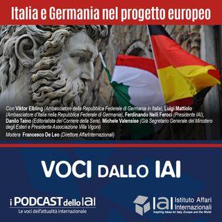 Italia e Germania nel progetto europeo