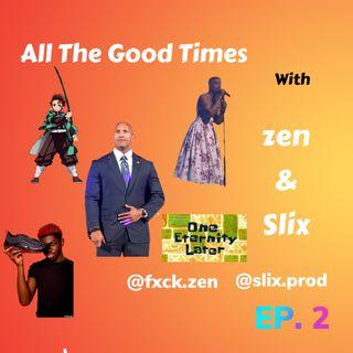 Ep 2 We're back! Dwayne Johnson the next prez? Kid Cudi's Dress & more!