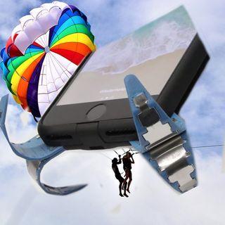 Funda paracaídas para celular
