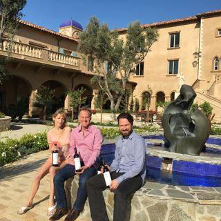Inside the Allegretto Vineyard Resort, Paso Robles, CA