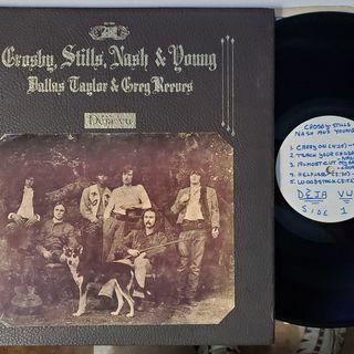 RARE Crosby, Stills, Nash & Young Side 1 & 2 of Deja Vu (1970)(MONO Test Pressing) 4 Sale on ebay