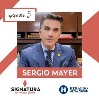 Sergio Mayer; su letra revela porqué genera controversias  | Signatura