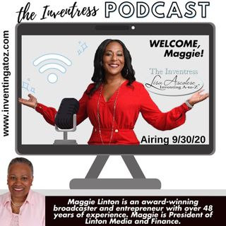 Episode 81 - Maggie Linton (Award Winning Broadcaster & Entrepreneur)