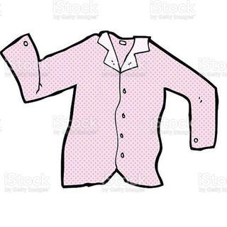 la camicia dell'uomo contento