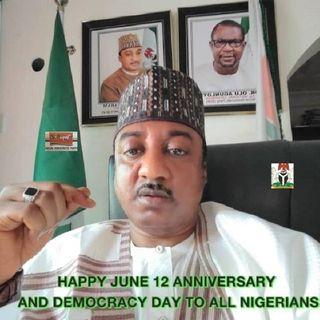 SDP National Secretary Gabam on Kiss FM Abuja