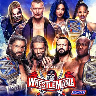 TV Party Tonight: Wrestlemania 37 (addendum)