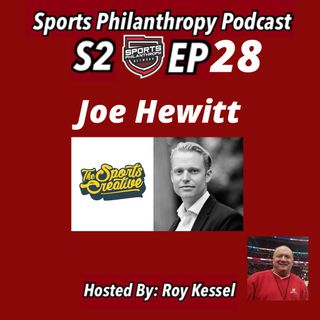S2:EP28 Joe Hewitt, The Sports Creative