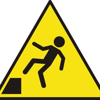 Advertencias para no caer