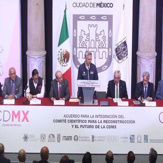 Programa de reconstrucción en la CDMX
