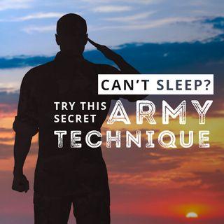 Secret Army Sleep Technique
